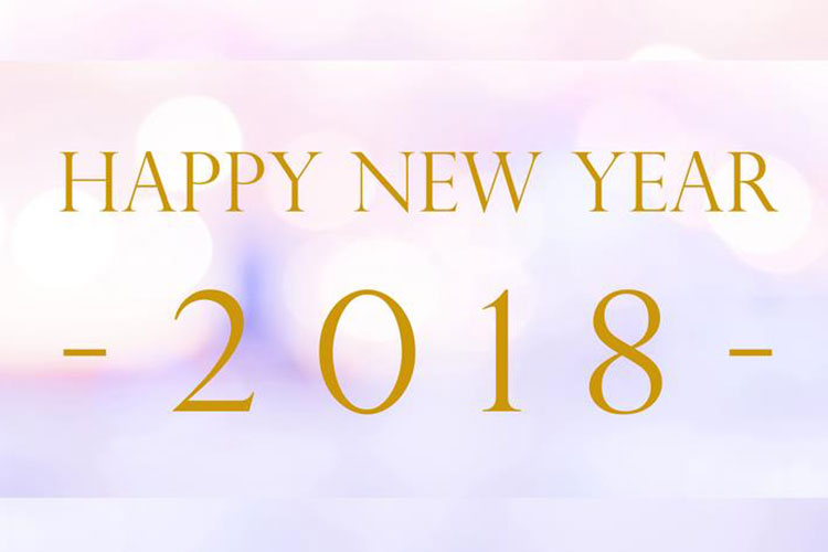 Bộ tuyển tập ảnh bìa chúc mừng năm mới – Happy new year 2018 ấn tượng