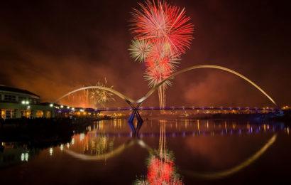 Bộ tuyển tập hình nền pháo hoa chúc mừng năm mới full hd đẹp