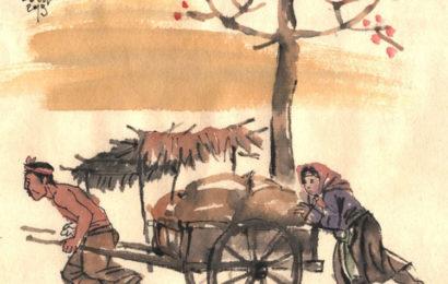 Tình huống nhặt vợ trong truyện Vợ Nhặt của Kim Lân ở ngữ văn lớp 12