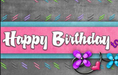 Bộ ảnh bìa, cover facebook chúc mừng sinh nhật – Happy Birthday đẹp lung linh