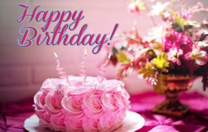 Bộ tuyển tập bức thiệp, hình ảnh bánh chúc mừng sinh nhật đẹp lung linh