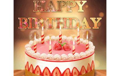 Hình ảnh động bánh chúc mừng sinh nhật đẹp và ý nghĩa