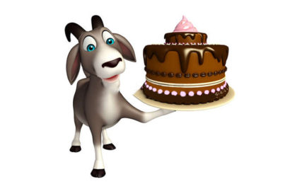 Hình ảnh bánh kem , bánh gato chúc mừng sinh nhật người tuổi Mùi (Dê) đẹp