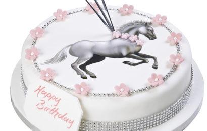 Bánh kem chúc mừng sinh nhật cho người tuổi Ngọ (Ngựa) ấn tượng