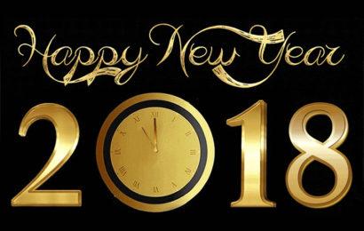 Những bức thiệp, hình ảnh động chúc mừng năm mới – Happy new year 2018 đẹp