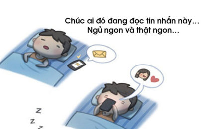 Bộ tuyển tập tin nhắn sms chúc ngủ ngon đốn tim người ấy