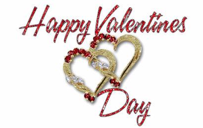 Thiệp chúc mừng Valentine, ngày lễ tình yêu 14/2 động lung linh