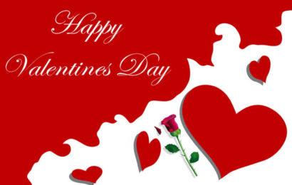 Bức thiệp chúc mừng ngày lễ tình yêu Valentine 14/2 lãng mạn không thể bỏ qua