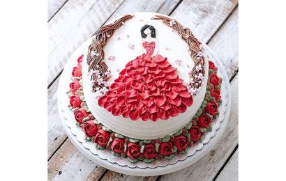 Bộ tuyển tập những bánh kem mừng sinh nhật phụ nữ đẹp lung linh