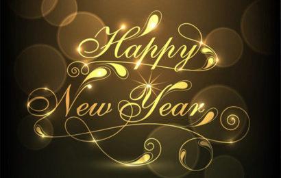 Bức thiệp, hình ảnh động chúc mừng năm mới – Happy New Year 2019 lung linh