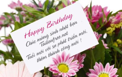 Hướng dẫn tạo thiệp hoa chúc mừng sinh nhật online ấn tượng