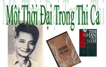 Bài soạn Một thời đại trong thi ca của Hoài Thanh trong ngữ văn lớp 11