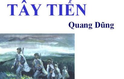 Tài liệu ôn thi THPT Quốc Gia Tây tiến của Quang Dũng hay