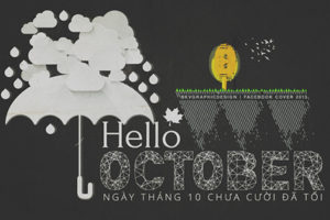 Những ảnh bìa và cover facebook chào tháng 10 lung linh sắc màu