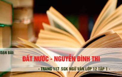"""Soạn bài đọc thêm lớp 12 """" Đất nước """" của Nguyễn Đình Thi"""