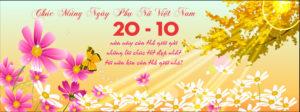 Top những cover, ảnh bìa mừng ngày phụ nữ Việt Nam 20/10 số 4
