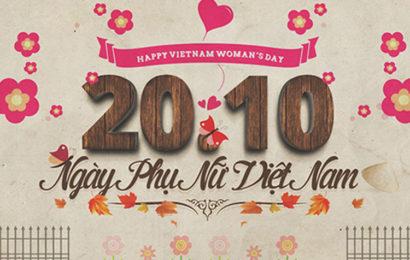 Top những cover, ảnh bìa mừng ngày phụ nữ Việt Nam 20/10