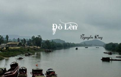 """Soạn văn mẫu lớp 12 tập 1 """" Đò lèn """" của Nguyễn Duy"""