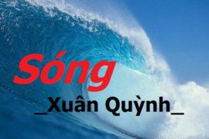 soan-bai-song-cua-xuan-quynh