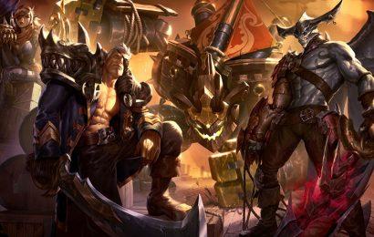 Những hình ảnh tướng Aatrox (quỷ kiếm Darkin) trong game LOL full hd