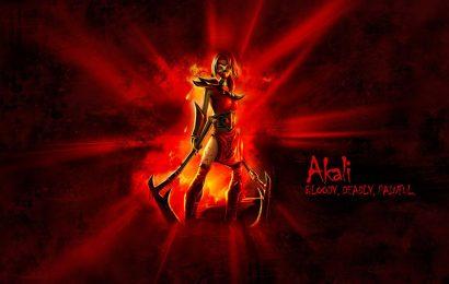 Tuyển tập hình ảnh và hình nền tướng Akali trong game liên minh đẹp