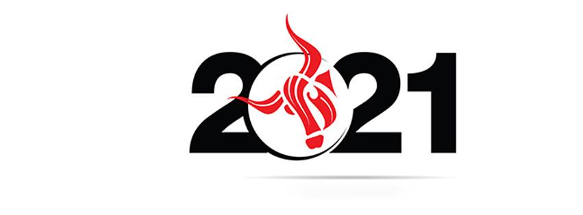Ảnh bìa chúc mừng năm mới - Happy New Year 2021 lung linh số 41