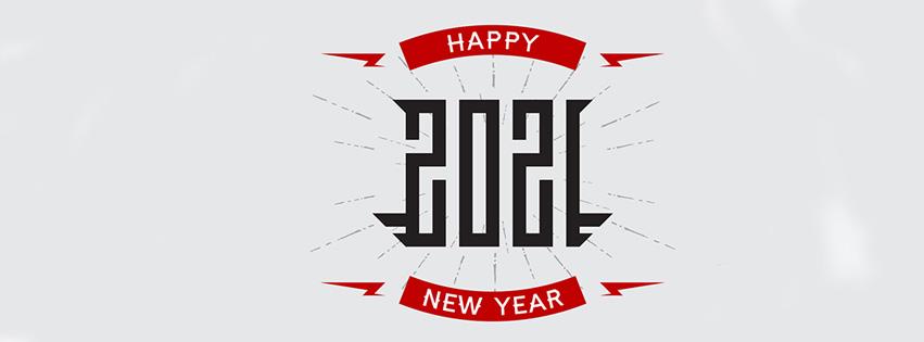 Ảnh bìa chúc mừng năm mới - Happy New Year 2021 lung linh số 31