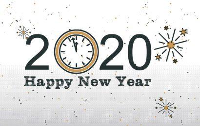 Top 50 hình ảnh động chúc mừng năm mới – Happy New Year Xuân Canh tý 2020