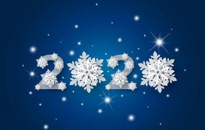 Top 50 hình ảnh chúc mừng năm mới chữ 2020 chào năm Canh Tý đẹp