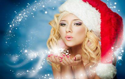 Top 50 hình nền hot girl mừng giáng sinh đẹp lung linh