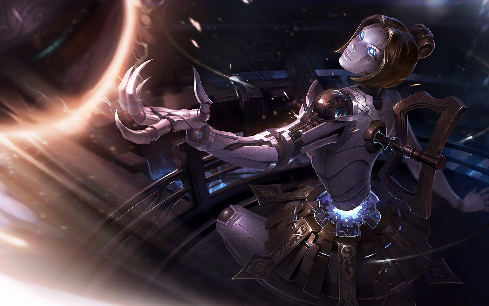 Hình ảnh tướng Orianna trong game liên minh full hd số 9