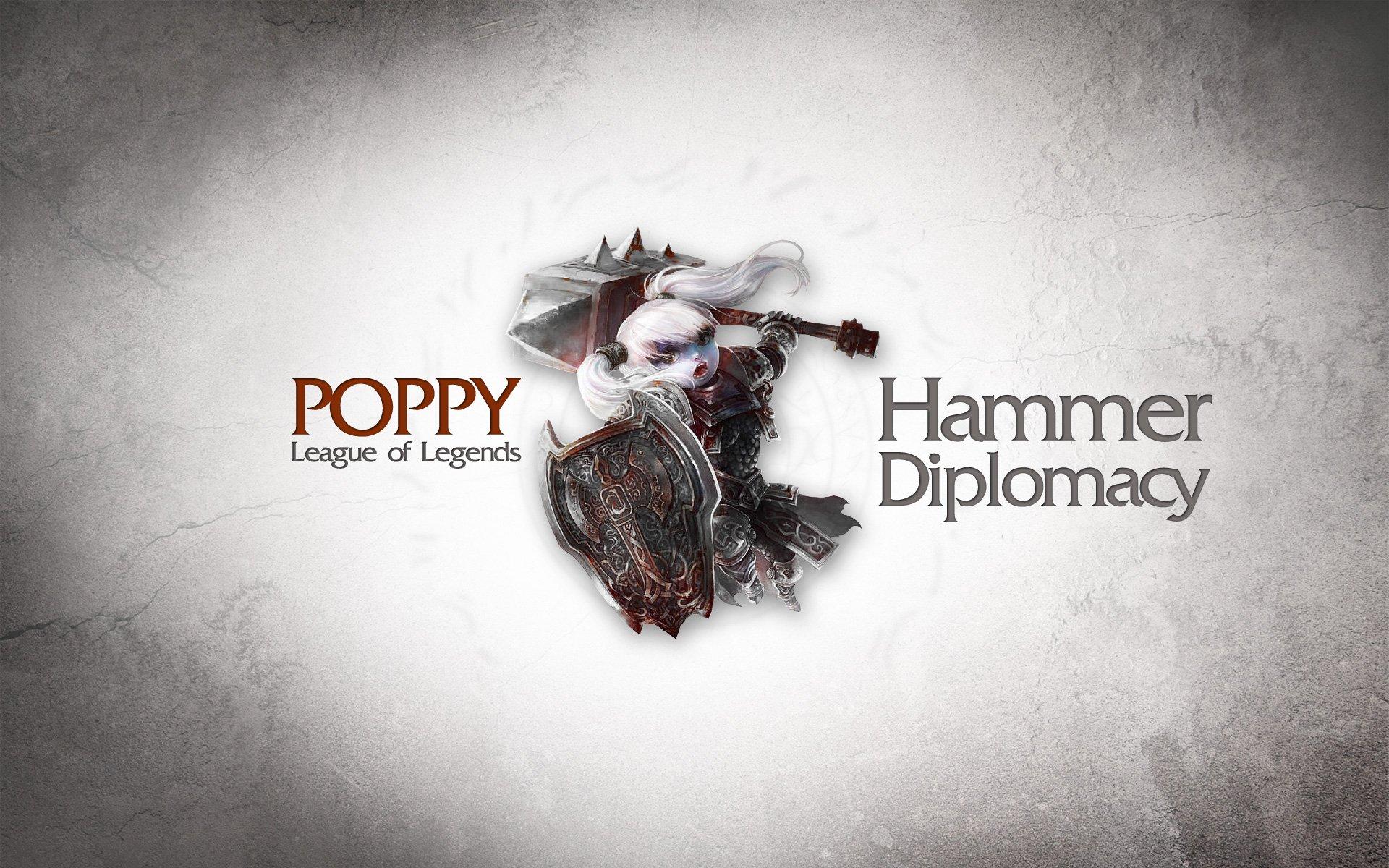 Hình ảnh tướng Poppy trong game liên minh full hd số 22
