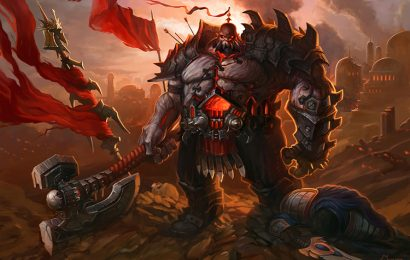 Hình ảnh và hình nền tướng Sion (Chiến Binh Bất Tử) trong LOL