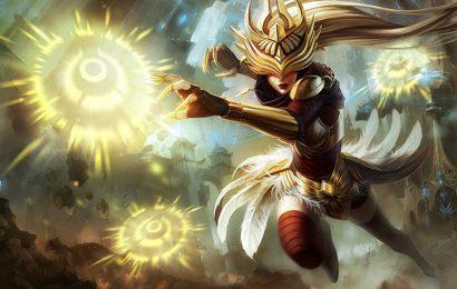 Hình ảnh và hình nền tướng Syndra (Nữ Chúa Bóng Tối) trong LOL
