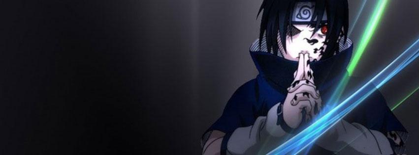 Cover nhân vật Sasuke Uchiha trong phim hoạt hình Naruto số 22