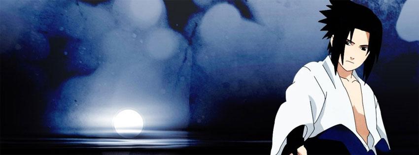 Cover nhân vật Sasuke Uchiha trong phim hoạt hình Naruto số 23