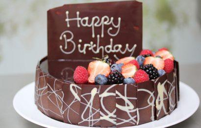 Top 30 hình ảnh bánh kem hương vị dâu tây và cherry chúc mừng sinh nhật đẹp