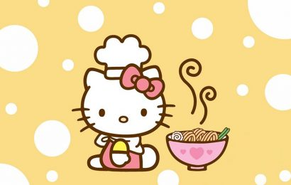 Top 30 ảnh bìa facebook hoạt hình mèo Hello Kitty dễ thương