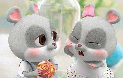 Top 50 hình nền cặp đôi chuột chibi cực dễ thương