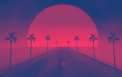 Tuyển tập 30 cover và ảnh bìa facebook nghệ thuật retro wave đẹp