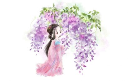 Tuyển tập bộ hình ảnh và hình nền chibi thiếu nữ trung hoa xưa dễ thương