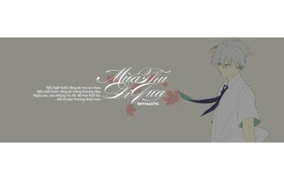 """Share file psd cover và ảnh bìa facebook bài hát """"Mùa Thu Đi Qua"""" của Rhymastic"""