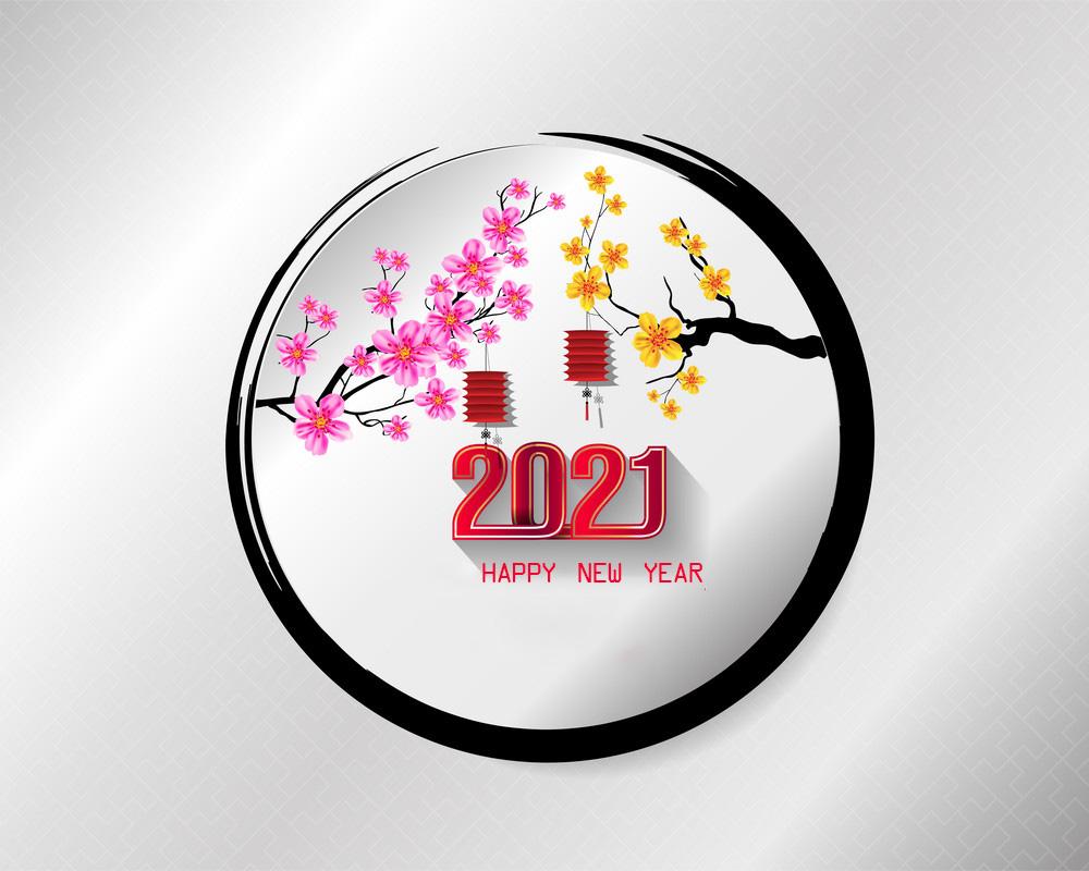 hình ảnh chúc mừng năm mới - tết nguyên đán tân sửu 2021 số 58