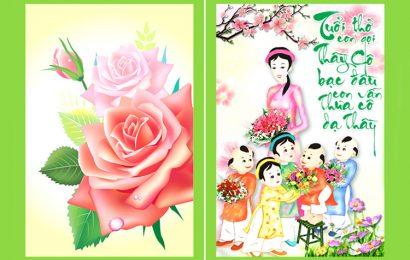 Top 50 hình ảnh động chúc mừng ngày nhà giáo Việt Nam 20/11 lung linh