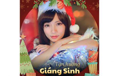 Ghép ảnh vào khung tận hưởng giáng sinh mừng Noel độ đáo