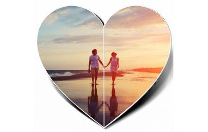 Tiện ích ghép và lồng ảnh vào khung hình trái tim tình yêu lãng mạn