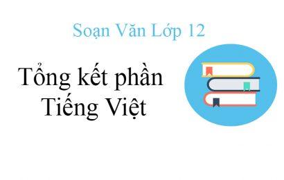 """Top 5 bài soạn """"Tổng kết phần tiếng Việt: Lịch sử, đặc điểm loại hình và các phong cách ngôn ngữ"""" mới nhất 2021"""