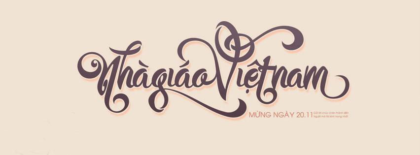 Ảnh bìa facebook chào mừng ngày nhà giáo Việt Nam 20/11, ảnh 6