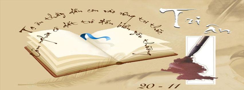 Ảnh bìa facebook chào mừng ngày nhà giáo Việt Nam 20/11, ảnh 7