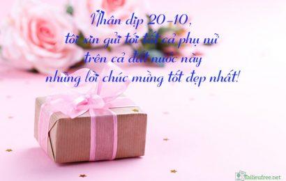 Top 99 hình ảnh hộp quà kèm những câu nói hay nhất về ngày 20/10